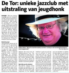Artikel uit de Huis aan Huis krant