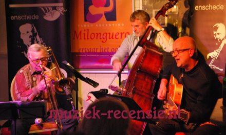 Drie jazzkopstukken op één podium